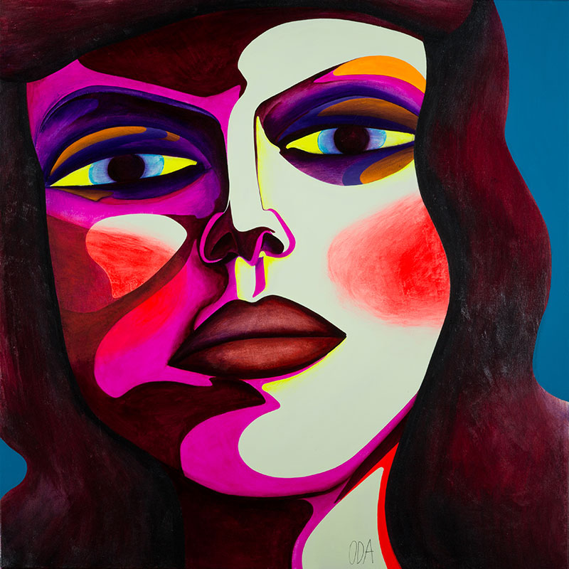 Oda Schultz - Color Pop - Art and Paintings